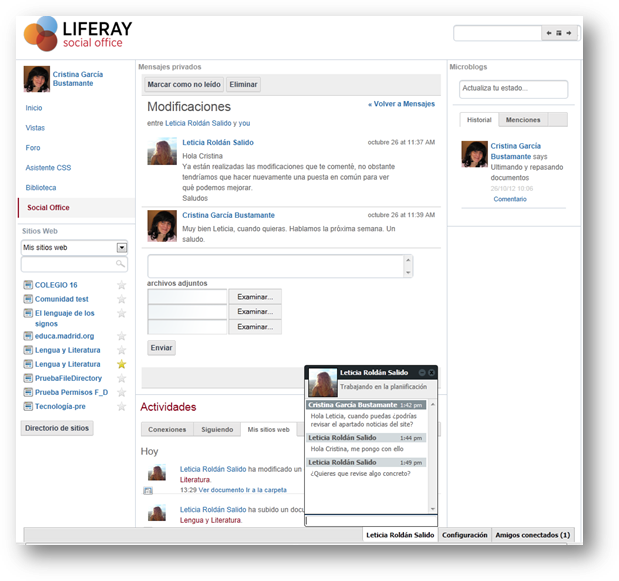 Liferay Social Office