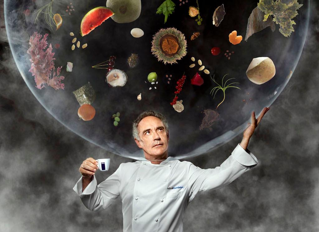 Ferran adri el nuevo sr ken robinson de las escuelas for La cocina de ferran adria